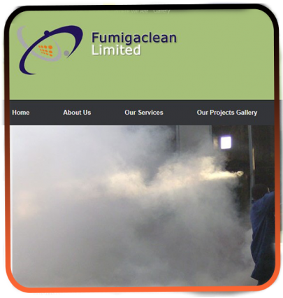 Fumigacleanlimited- web design and development